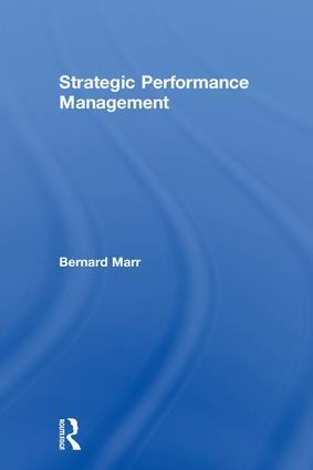 Strategic Performance Management: 1st Edition (Hardback) book cover