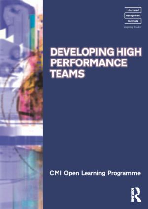 Developing High Performance Teams CMIOLP