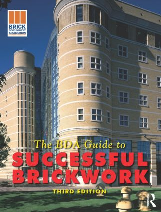 BDA Guide to Successful Brickwork, 3rd ed: 3rd Edition (Paperback) book cover