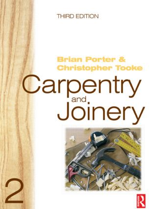 Carpentry and Joinery 2, 3rd ed: 3rd Edition (Paperback) book cover