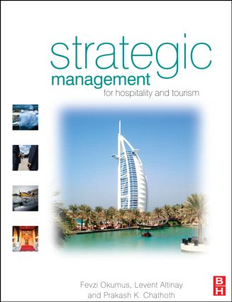 Strategic Management for Hospitality and Tourism (Paperback) book cover
