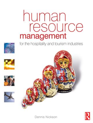 Human Resource Management for the Hospitality and Tourism Industries (Paperback) book cover