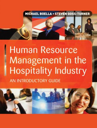 Human Resource Management in the Hospitality Industry: 8th Edition (Hardback) book cover