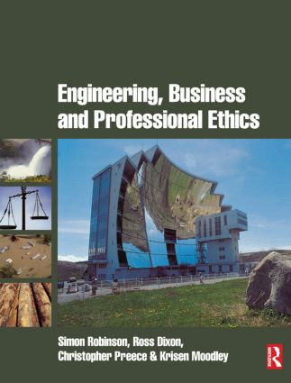 Engineering, Business & Professional Ethics (Paperback) book cover