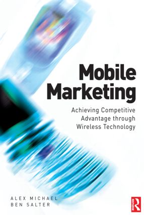 Mobile Marketing: 1st Edition (e-Book) book cover