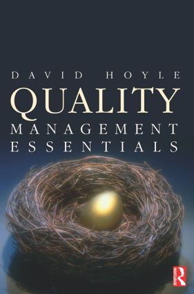 Quality Management Essentials: 1st Edition (Paperback) book cover