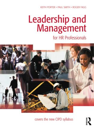 Leadership and Management for HR Professionals: 1st Edition (Paperback) book cover