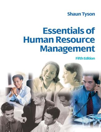 Essentials of Human Resource Management: 5th Edition (Paperback) book cover