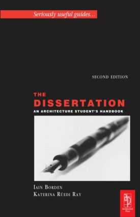 The Dissertation: 2nd Edition (Paperback) book cover