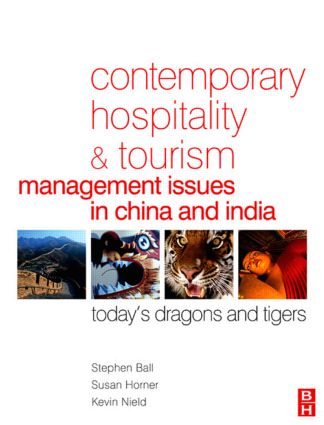 Contemporary Hospitality and Tourism Management Issues in China and India (Paperback) book cover