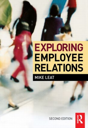 Exploring Employee Relations: 2nd Edition (Paperback) book cover