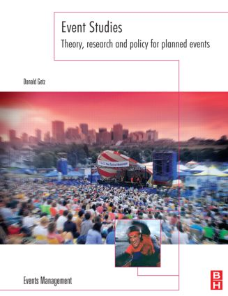 Event Studies: Theory, Research and Policy for Planned Events book cover