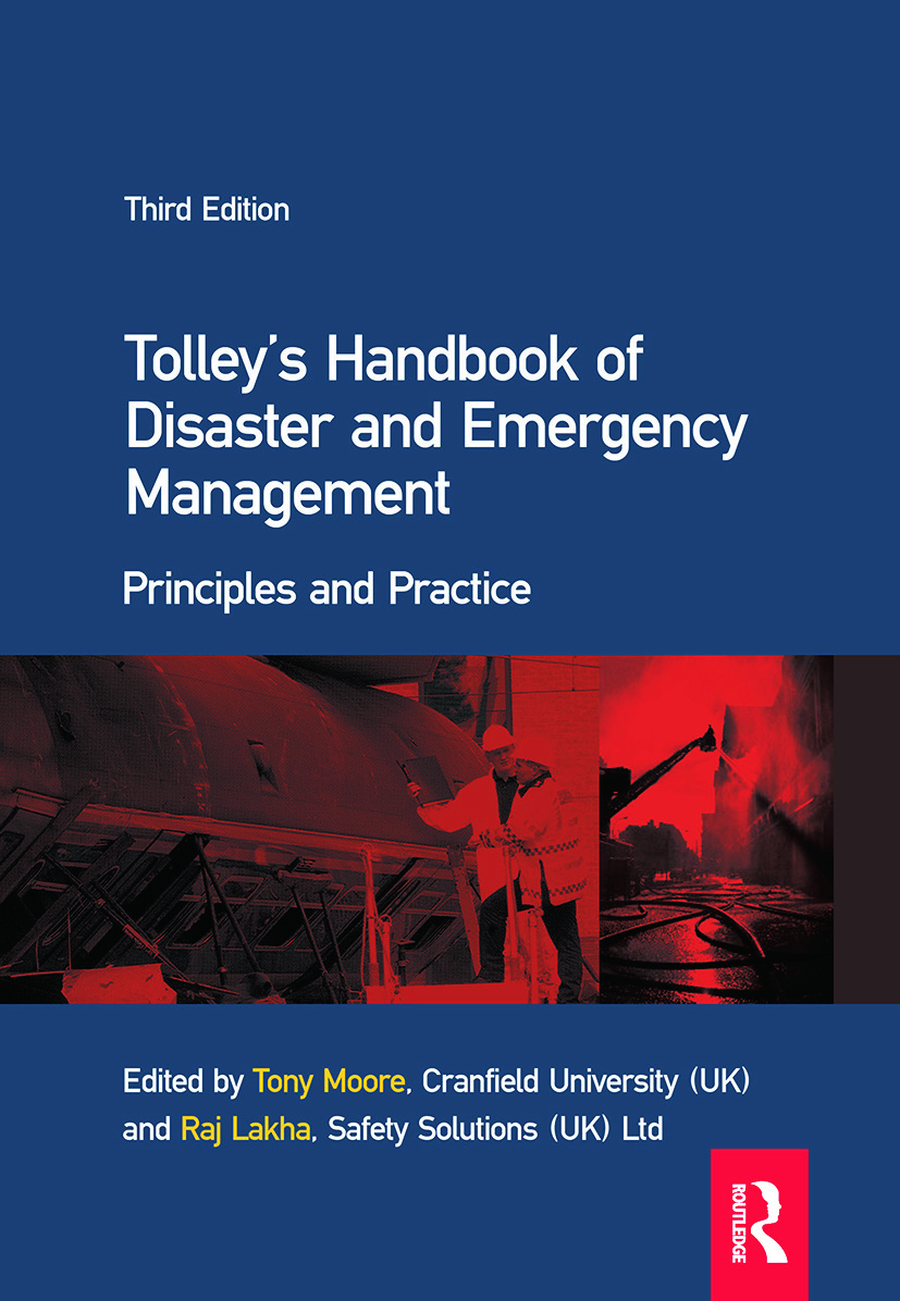 Tolley's Handbook of Disaster and Emergency Management: 3rd Edition (Hardback) book cover