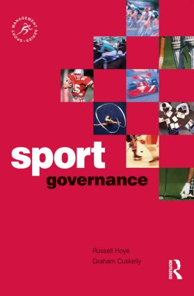 Sport Governance: 1st Edition (Paperback) book cover