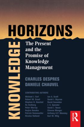 Knowledge Horizons: 1st Edition (Paperback) book cover