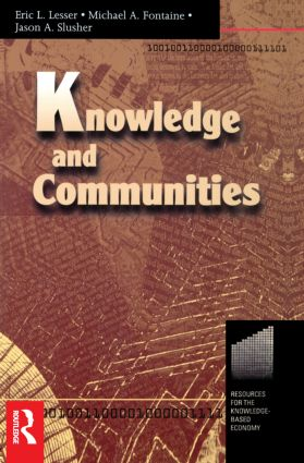 Knowledge and Communities: 1st Edition (Paperback) book cover