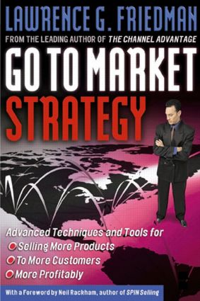 Go To Market Strategy: 1st Edition (Hardback) book cover