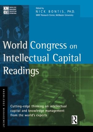 World Congress on Intellectual Capital Readings: 1st Edition (Hardback) book cover