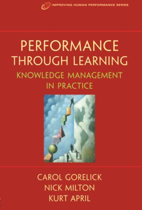 Performance Through Learning: 1st Edition (Paperback) book cover