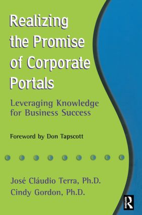 Realizing the Promise of Corporate Portals: 1st Edition (Paperback) book cover