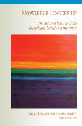 Knowledge Leadership: 1st Edition (Paperback) book cover