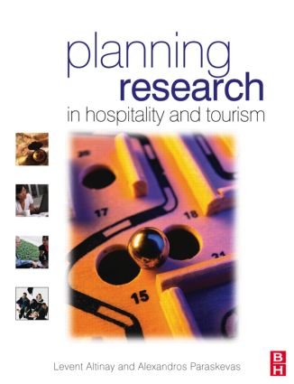 Planning Research in Hospitality & Tourism (Paperback) book cover