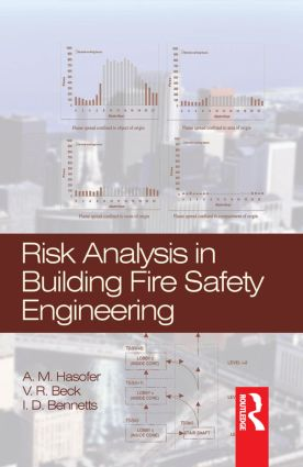 Risk Analysis in Building Fire Safety Engineering (Hardback) book cover