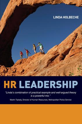 HR Leadership: 1st Edition (Paperback) book cover