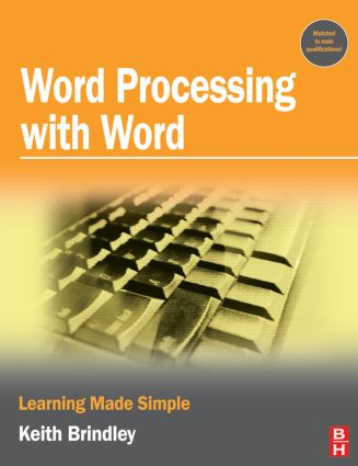 Word Processing with Word: 1st Edition (Paperback) book cover