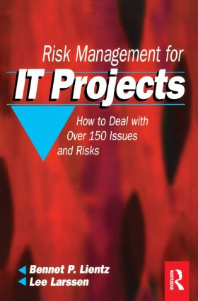 Risk Management for IT Projects (Paperback) book cover