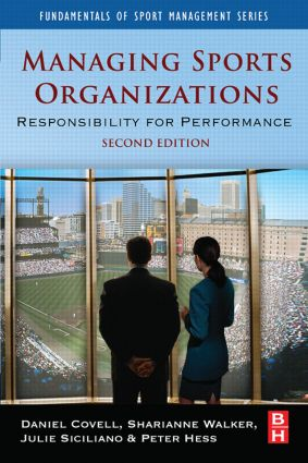 Managing Sports Organizations book cover