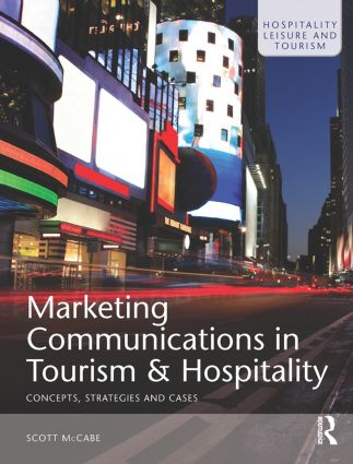 Marketing Communications in Tourism and Hospitality (Paperback) book cover