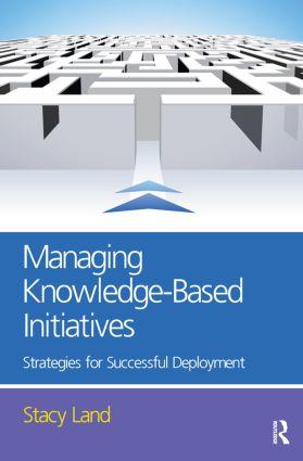 Managing Knowledge-Based Initiatives