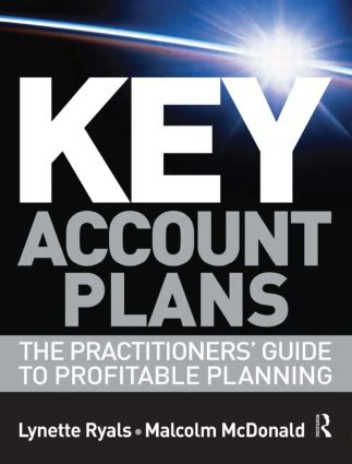 Key Account Plans: 1st Edition (Paperback) book cover