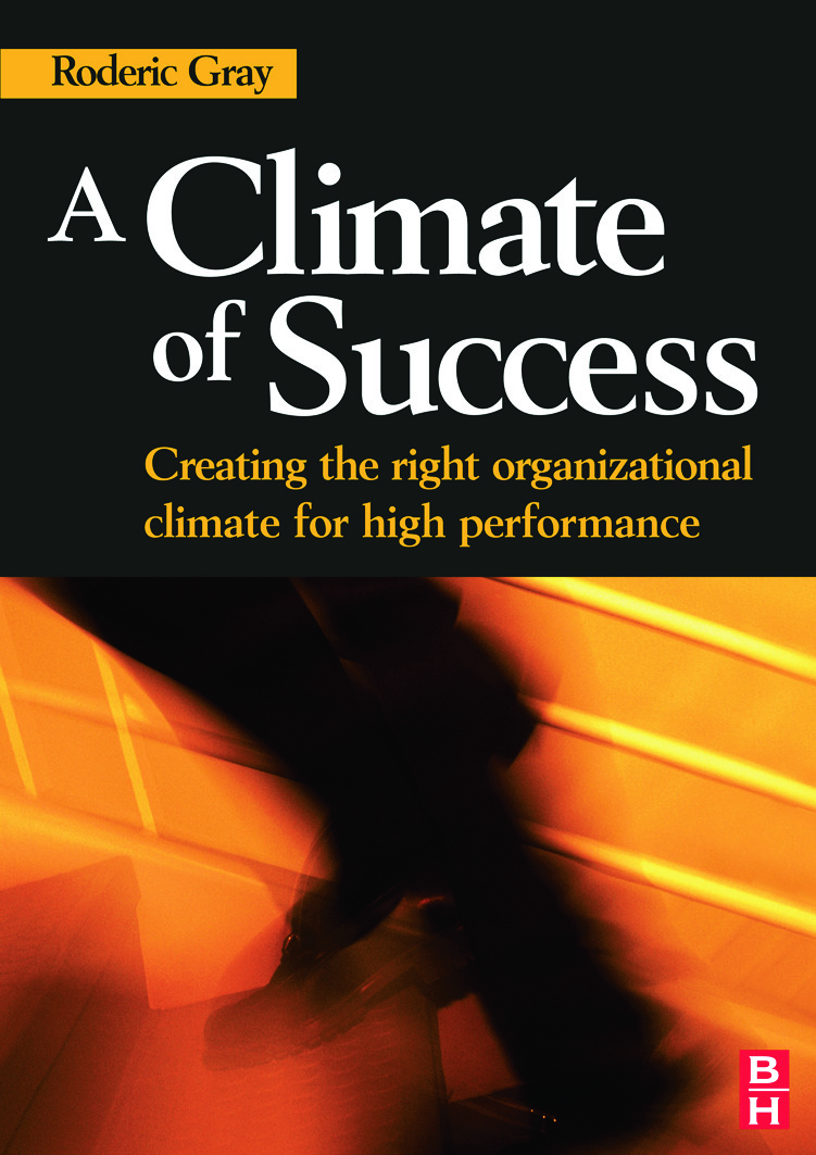 A Climate of Success: 1st Edition (Paperback) book cover