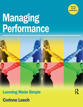 Managing Performance: 1st Edition (Paperback) book cover