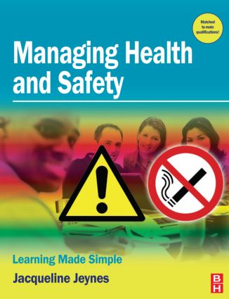 Managing Health and Safety: 1st Edition (Paperback) book cover