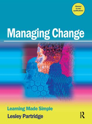 Managing Change: 1st Edition (Paperback) book cover