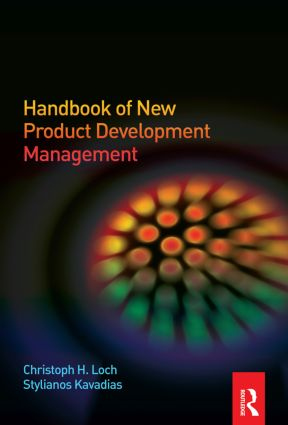Handbook of New Product Development Management: 1st Edition (Hardback) book cover