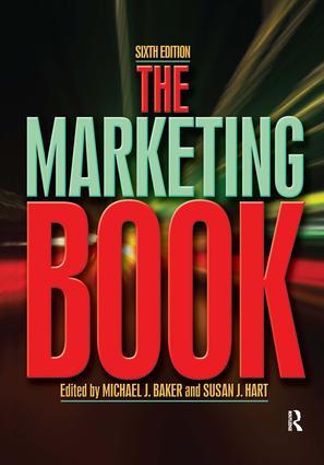 The Marketing Book: 6th Edition (Hardback) book cover