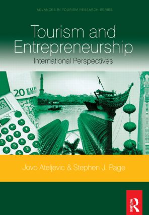 Tourism and Entrepreneurship: 1st Edition (Paperback) book cover