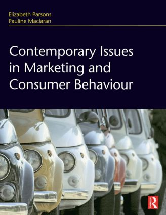 Contemporary Issues in Marketing and Consumer Behaviour (Hardback) book cover