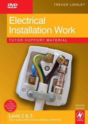 Electrical Installation Work Tutor Support Material book cover