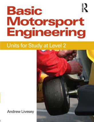 Basic Motorsport Engineering: 1st Edition (Paperback) book cover