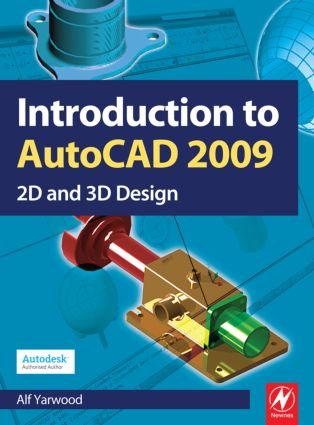 Introduction to AutoCAD 2009: 1st Edition (Paperback) book cover
