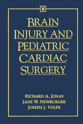 Brain Injury and Pediatric Cardiac Surgery book cover