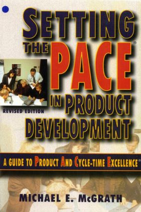 Setting the PACE in Product Development (Paperback) book cover