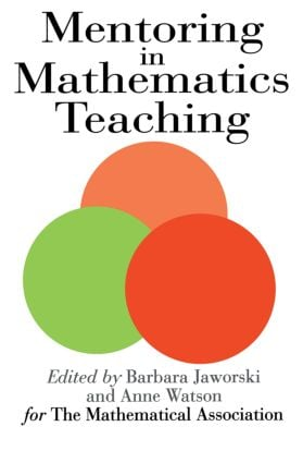 Mentoring In Mathematics Teaching: 1st Edition (Paperback) book cover