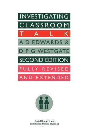 Investigating Classroom Talk: 2nd Edition (Paperback) book cover