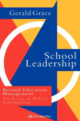 School Leadership: Beyond Education Management (Paperback) book cover